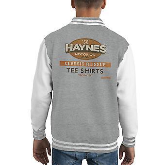 Haynes klassischer Reissue Hemd Kid Varsity Jacket