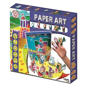 Cayro Paper Art Characters (Toys , Educative And Creative , Arts And Crafts , Origami)