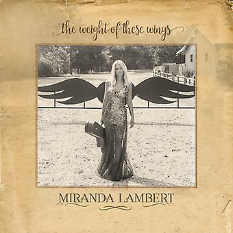 Miranda Lambert - Weight of These Wings [CD] USA import