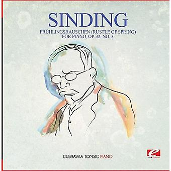 Sinding - Fruhlingsrauschen (Rustle of Spring) pour Piano opus [CD] USA import