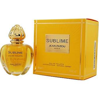 Jean Patou Sublime Eau de Toilette 50ml EDT Spray