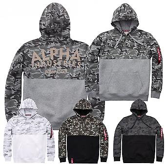 Alpha industries Hoody Camo block