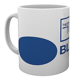 Blue Note Records logotipo caneca