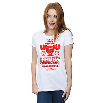 National Lampoon's Christmas Vacation Women's Merry Christmoose T-Shirt