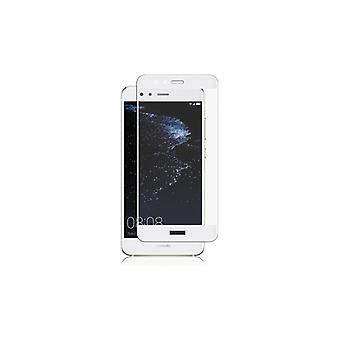 Panzer Huawei P10 Lite, Curved Glass, White