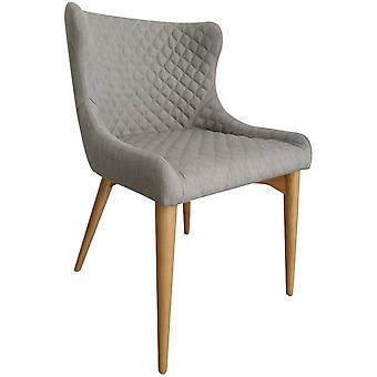 Classic Chelsea Dining Chair - Flint Fabric
