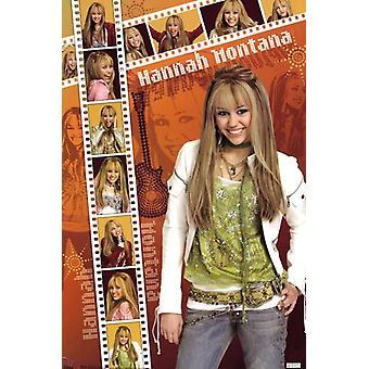 Hannah Montana - Film Strip Poster Poster Print