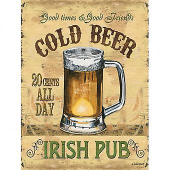 Irish Pub Poster Print by Debbie DeWitt (12 x 16)