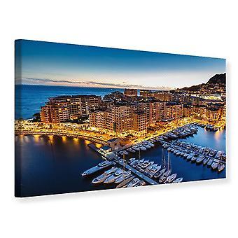 Canvas Print-Vorstendom Monaco