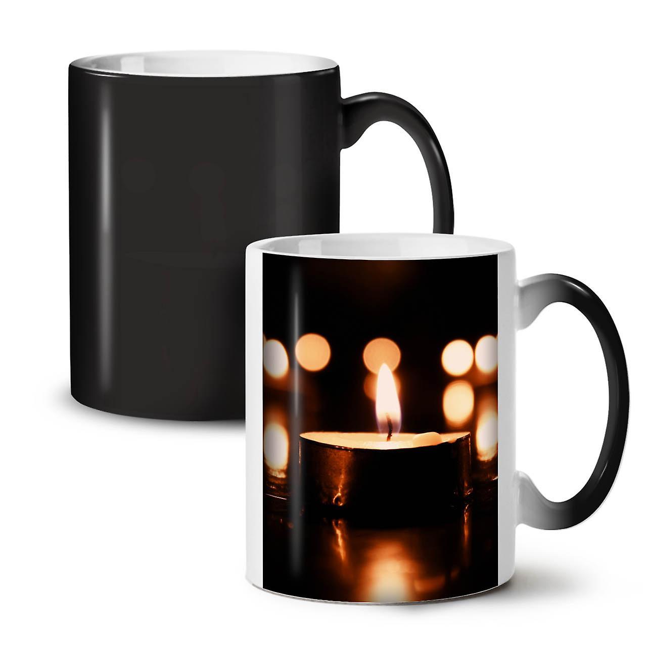 OzWellcoda Café De Tasse Thé Changeant Céramique Nouveau Noir Bougie Couleur Lumineuse Calme 11 e9DWEHI2Y