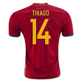2016-2017 Hiszpania włodarze (Thiago. 14)
