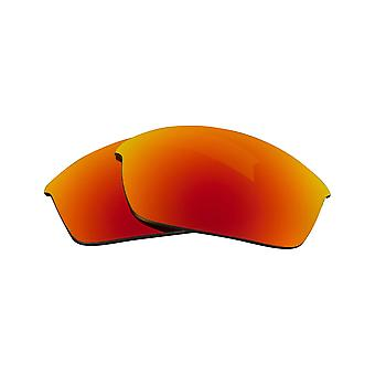 Best SEEK Replacement Lenses for Oakley FLAK JACKET Silver Mirror Yellow