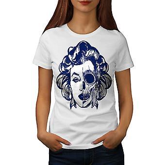 Marilyn-Rock Damen WhiteT-Shirt | Wellcoda