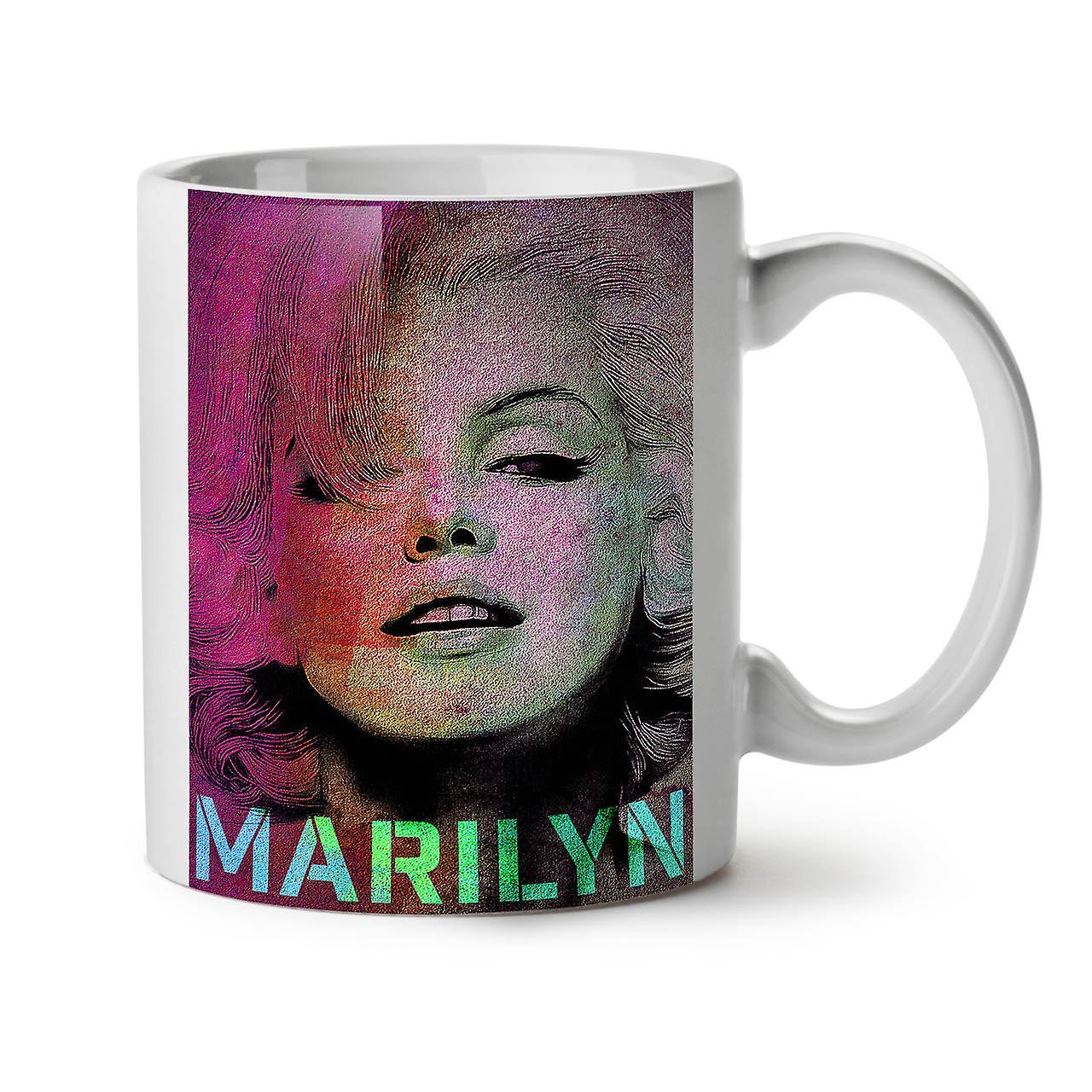 Tea White Mug Coffee Hot Marilyn New OzWellcoda Ceramic 11 vnN8mwO0