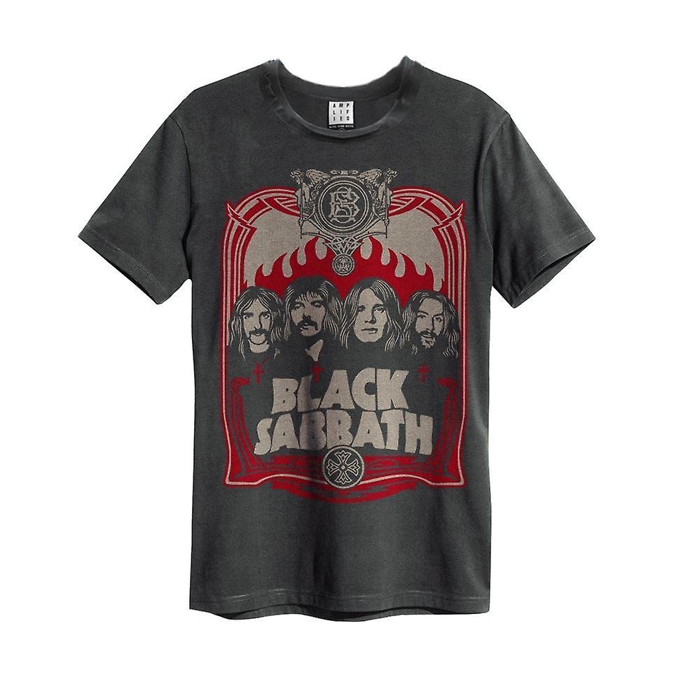 Amplified Black Sabbath Portrait Men's T-Shirt
