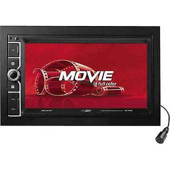 Double DIN monitor receiver Caliber Audio Technology RMD 801BT Bluetooth hands