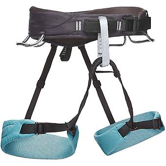 Black Diamond Womens Momentum Climbing Harness for All-Around Use Stone