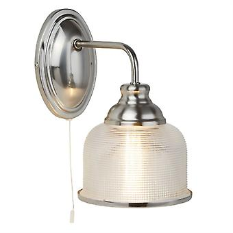 Bistro Ii Satin Silver Wall Light - Searchlight 2671-1SS
