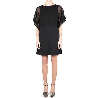 Jucca ladies J2717021 black viscose dress