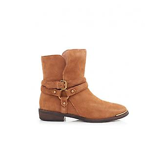 Ugg Kelby Suede Ankle Strap Boots