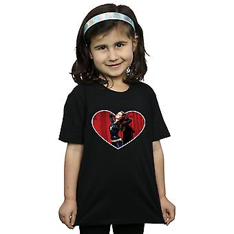 DC Comics Girls Batman TV Series Catwoman Heart T-Shirt