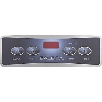 Balboa 10671 Lite Duplex Digital Jet/Blower/Light Spa Panel Overlay