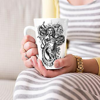 Satan Hell Girl Fantasy NEW White Tea Coffee Ceramic Latte Mug 17 oz | Wellcoda