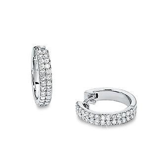 s.Oliver jewel ladies earrings hoops silver 17 mm SO1124/1 - 9953134