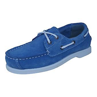 Timberland EarthKeepeers Peakisl 2I Kids Boat / Deck Shoes - Blue