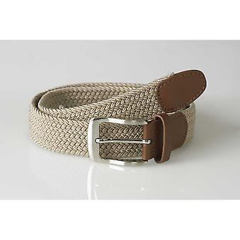 Duke Mens Frank King Size Stretch Braided Belt