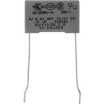 Kemet R413F147000M1M+ 1 pc(s) MKP suppression capacitor Radial lead 4.7 nF 300 V 20 % 10 mm (L x W x H) 13 x 5 x 11