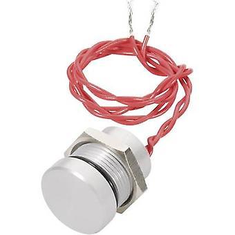 APEM PBAR2AF0000 Piezo pushbutton 24 V DC/AC 0.2 A 1 x Off/(On) IP69K momentary 1 pc(s)