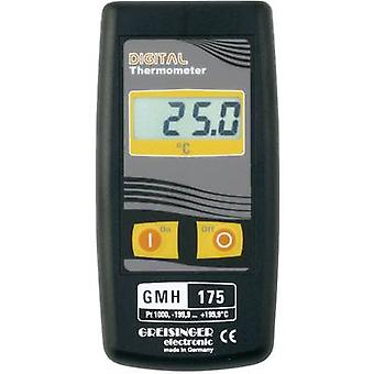 Thermometer Greisinger GMH 175 -199.9 up to +199.9 °C Sensor typ