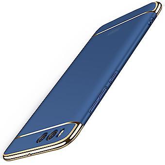 Cell phone cover tilfældet for Xiaomi MI 6 kofanger 3 i 1 dæksel krom tilfælde blå