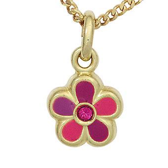 Rimorchio bambini fiore 333 cappotto rosa oro giallo oro deposito gioielli per bambini