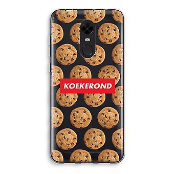Xiaomi Redmi 5 Transparent Case (Soft) - Koekerond
