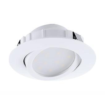 EGLO infällda LED Spot 84 vit Pineda