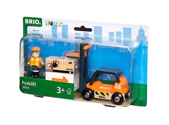 BRIO Fork Lift Truck 33573 Accessory for wooden Railway Set