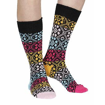 Cathedral recycled cotton multicoloured odd-socks | By Sidekick