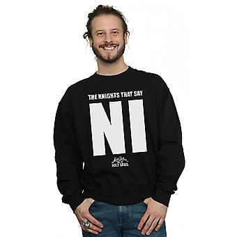 Monty Python Men's Knights Who Say NI Sweatshirt