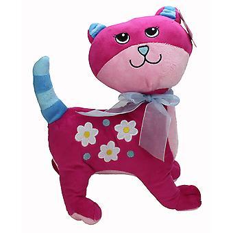 グルーヴィー ピンクぬいぐるみ猫
