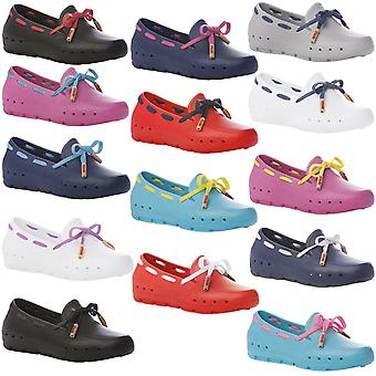 Mini Mocks Boys Girls Kids Childrens Pool Beach Water Slip On Loafer Shoes