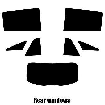 Pre cut window tint - Mercedes CLA Shooting Break - 2015 and newer - Rear windows