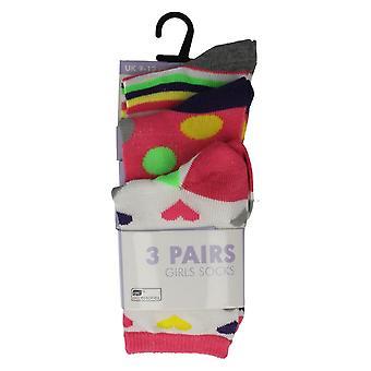 Paquete de calcetines de las niñas de 3