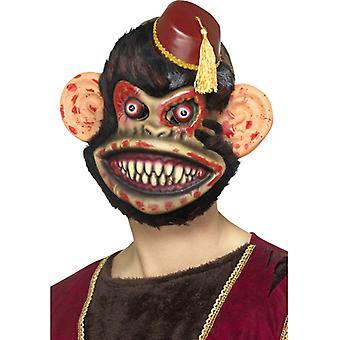 Maschera di scimmia giocattolo zombie