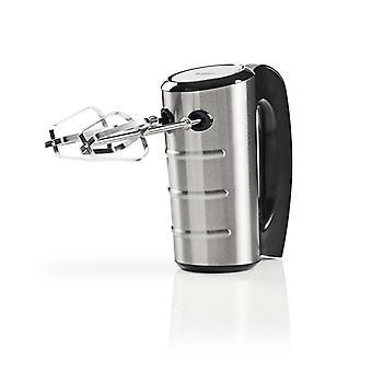NEDIS KAHM210CAL Hand Mixer 350 W 5 Geschwindigkeiten Edelstahl