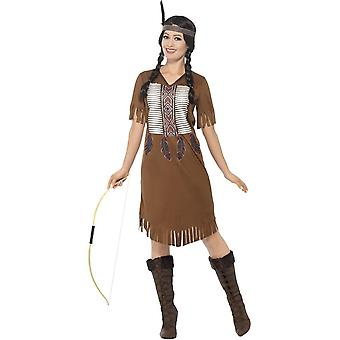 Native American Inspired Warrior Princess Costume, Medium