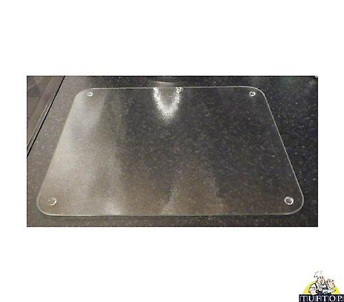 Premium Glass Clear Frosted Medium Kitchen Worktop Saver Protector