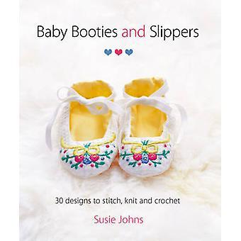 Baby Booties chaussons & - 30 modèles de couture - tricot et Crochet en S