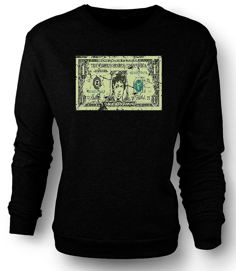 Mens Sweatshirt Bob Dylan ett Dylan - Funny